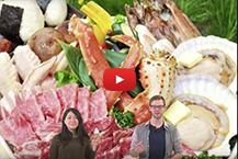Enjoy real local HOKKAIDO Food!